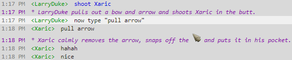 Treasure Trooper Chatroom Arrow Game