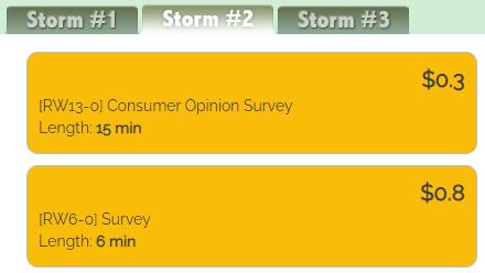 Treasure Trooper Study Storm Surveys