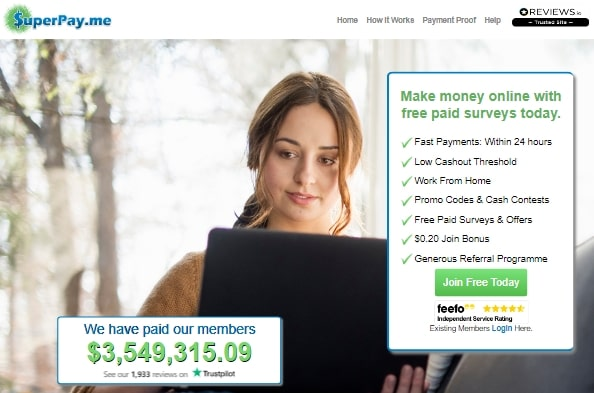 SuperPay.me Home Page