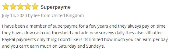 SurveyPolice Positive SuperPay.me Review