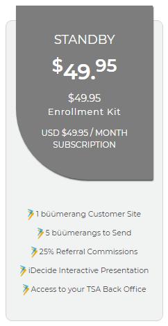 iBuumerang Standby Enrollment Kit