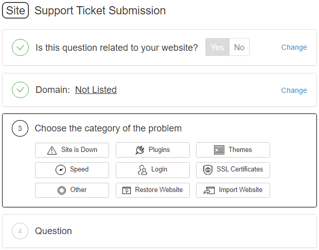 Wealthy Affiliate SiteSupport Ticket Submission