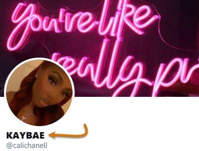 KayBae Twitter Profile