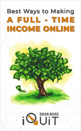 The Best Ways to Make a Full-Time Income Online Cover