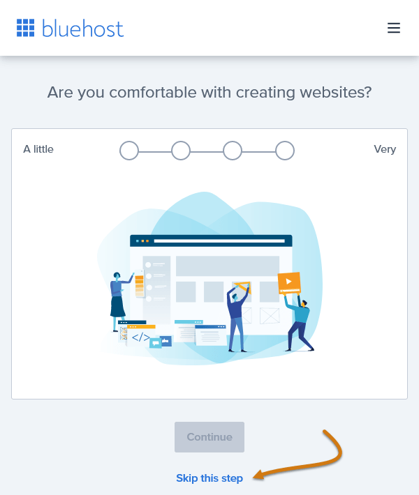 Bluehost Are You Comfortable With Creating Websites