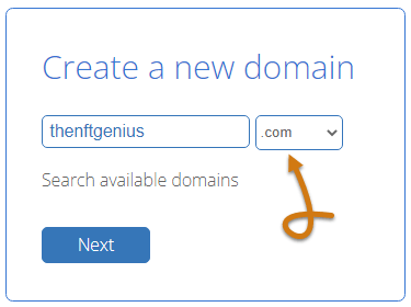 Bluehost Create A New Domain