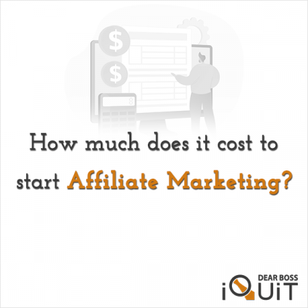 How Much Does It Cost to Start Affiliate Marketing Featured Image