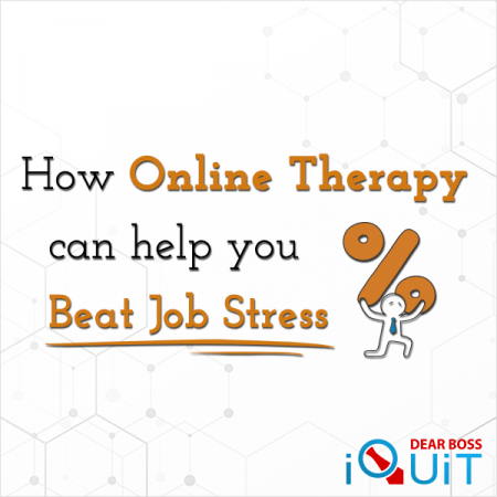 How Online Therapy Can Help You Overcome Job Stress Featured Image