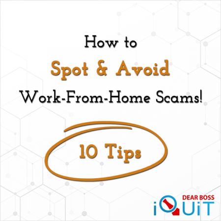 How To Spot And Avoid Work From Home Scams Featured Image