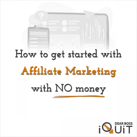 How To Start Affiliate Marketing For Free With No Money Featured Image