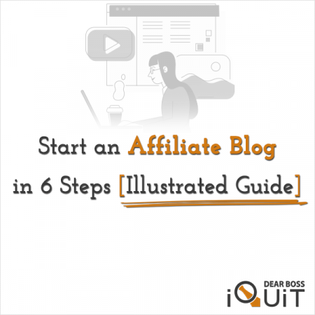 How To Start An Affiliate Marketing Blog Featured Image