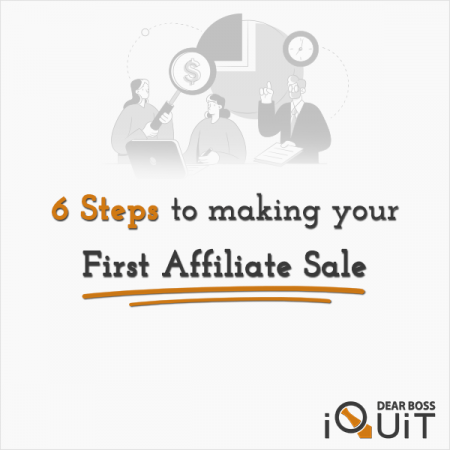 How to Make Your First Affiliate Sale Featured Image