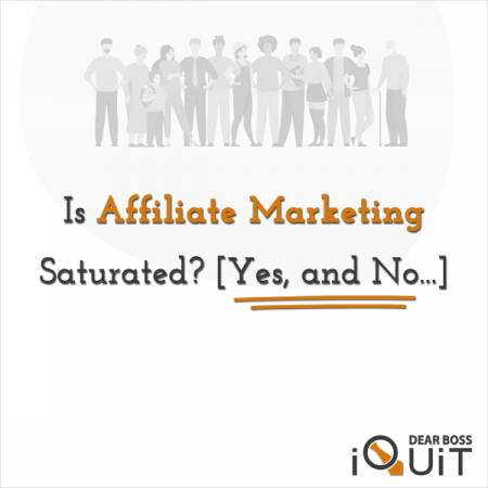 Is Affiliate Marketing Saturated Featured Image