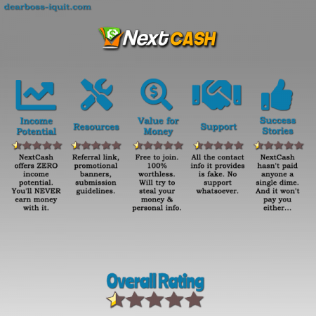 NextCash.co SCAM Review [Read Before Wasting Your Time]